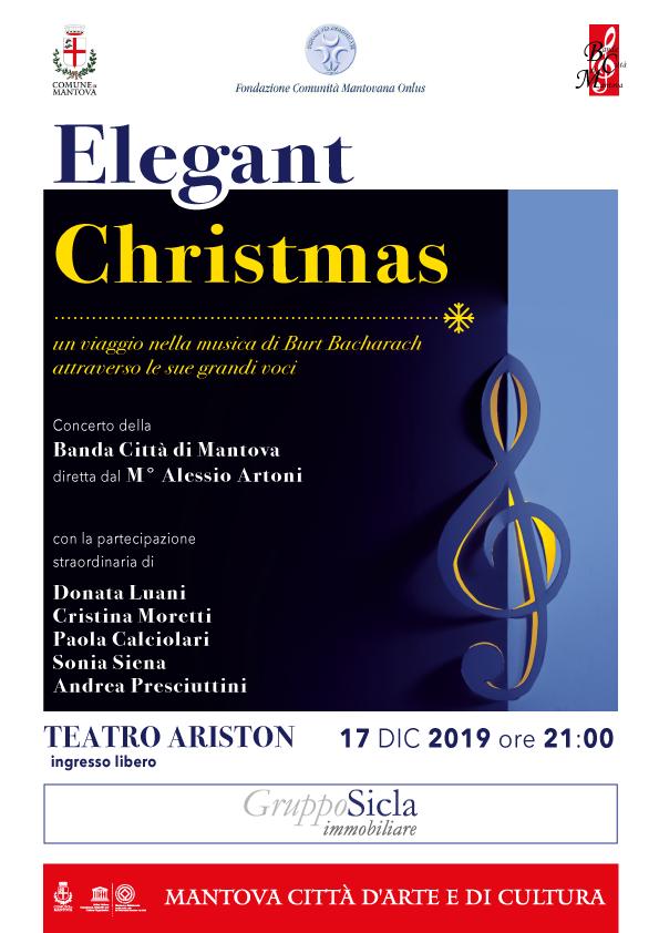 Elegant Christmas, Concerto di Natale 2019