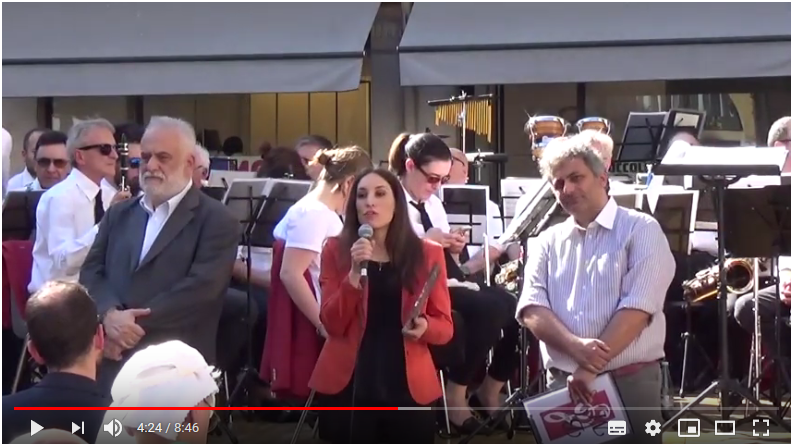 Video Youtube Banda concerto del 2 giugno 2019